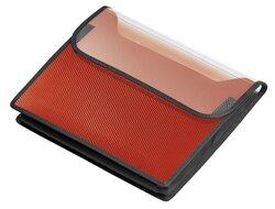 VELOBAG A4 quer rot, 55 mm Füllhöhe, Klettverschluss, für SchnellhefterVE = Pack = 12 Stück