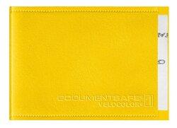 Document Safe 1, Schutzhülle passend für eine Karte, gelb, geeignet