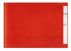 Document Safe 1, Schutzhülle passend für eine Karte, rot, geeignet