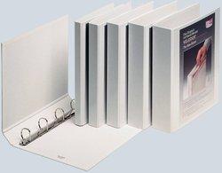 Präsentationsringbuch Velodur A4 4-Ring 15mm Ringdurchmesser weiß