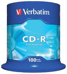 CD-Rohlinge, 80 Min., 700MB, 52-fach, 100er Spindel,VE = 1 Spindel = 100 Stück