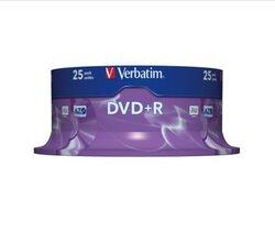 Rohling DVD+R 4,7 GB/120 Min. 16-fach, 25-er Spindel1 VE = 1 Spindel á 25 Stück