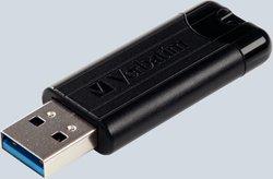 Speicherstick USB 3.0, 128 GB, PinStripe, mit Schiebefunktion