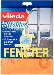 Microfasertuch f. Glas und Fenster 100% Microfaser, 60°C waschbar
