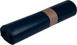 Müllsäcke LDPE, 70 Liter, 37 My, blau, 575 x 1000 mmVE = 1 Rolle = 25 Säcke