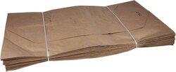 Papiersäcke, 120 Liter, natur, 700 x 950 x 220 mm, 2-lagig,VE = 1 Packung = 25 Säcke