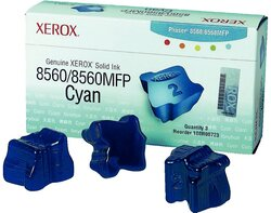 Colourstick cyan für Phaser 8560 für ca. 3.400 Seiten1 VE = 1 Packung á 3 Sticks