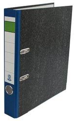 Ordner Wolkenmarmor A4,RB 50mm, blau mit Umweltengel auf dem Rückenschild