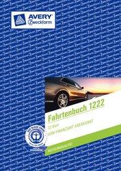 Fahrtenbuch, für PKW, A5, Recycling-Papier, 64 Seiten für 682 Fahrten