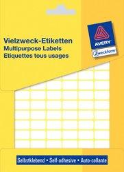 Vielzweck-Etikett, permanent, 16 x 9 mm, weiß, 2646 Stück.