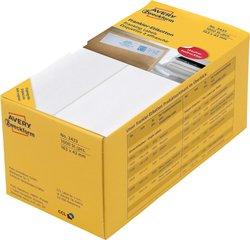 Avery Zweckform Frankieretiketten für Francotyp Postalia, Pitney Bowes, Neopost, Frama, 163x43mm, 1000 Etiketten, weiß, Packung à 500 Blatt