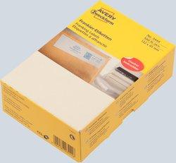 Frankieretikett für Frankiermaschinen von Francotyp-Postalia, 132 x 45 mm, weiß, doppelt.