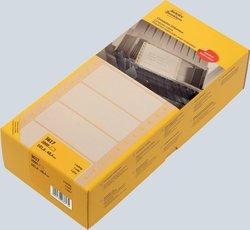 Avery Zweckform endlos Computer-Etiketten, 101,6x48,4mm, 2000 Etiketten, weiß, für Nadeldrucker, 1-bahnig