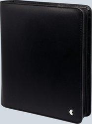 Chronoplan A5 Mobil Business Edition Leder mit Reißverschluss schwarz