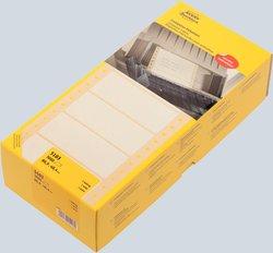 Computer-Etiketten, 88,9 x 48,4 mm, Matrix (Nadeldrucker), permanent, weiß, 1-bahnig1-bahnig, 3000 Stück,.