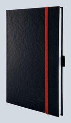 Notizo gebundenes Hardcover A5, liniert, grau