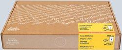 Versandetiketten, für Inkjet / Farblaser / Laser (s/w) / Kopierer, permanent, 99,1 x 139 mm, weiß, 300 Bogen = 1200 Etiketten.