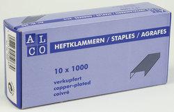 Alco Heftklammern 24/6 1000er verkupfertVE = 1 Packung = 1000 Stück