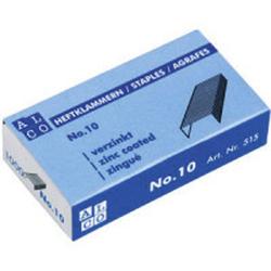 Alco Heftklammern No.10, verzinkt VE = 1 Schachtel = 1000 Stück