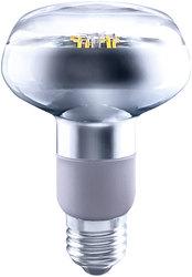 LED-Reflektorspot R80, E27, 5,5W, nicht dimmbar, 300 lm, klar