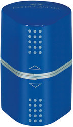 Dreifachspitzdose Colour Grip, brombeer und blau, sortiert