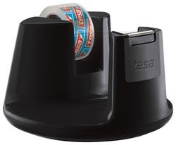tesafilm Tischabroller Compact schwarz, inkl. 1 Rolle tesafilm kristall-klar