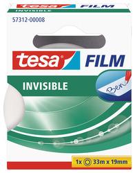 tesafilm matt-unsichtbar 19mm x 33m beschriftbar, ohne Lösungsmittel