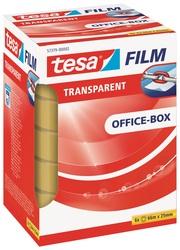 tesafilm transparent, 25mm x 66m alterungsbeständig, vielseitigVE = 1 Pack = 6 Rollen