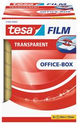 tesafilm transparent, 19mm x 66m alterungsbeständig, vielseitigVE = 1 Pack = 8 Rollen