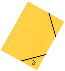 Dreiflügelmappe, A4, 250g/qm, gelb