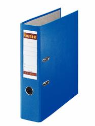 Ordner A4, No.1, 8cm, o. Kantenschutz, blau, Folienkaschiert, Griffloch,
