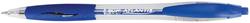 Kugelschreiber Atlantis, blau gummierte Griffzone