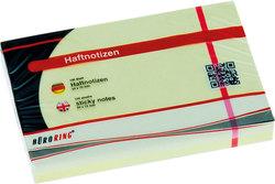 Büroring Haftnotiz FSC 100 Blatt pastellgelb 50x75mm