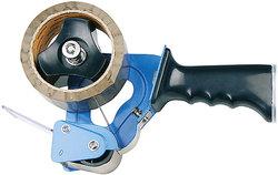 Büroring Metall Packband-Abroller, blau, für Packband Rollen 50mmx66m