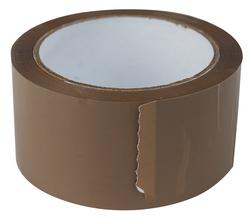 Packband 50 mm x 66 m, braun leise abrollend, PP ,46 mic1 Stange = 6 Rollen
