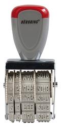 Büroring Datumstempel 25 x 4 mm Metall/Kunststoffgehäuse