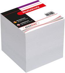 Büroring Notizklotz, weiß, 900 Blatt, 90x90xmm, geleimt