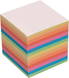 Büroring Ersatzpapier für Zettelbox farbig, 700 Blatt