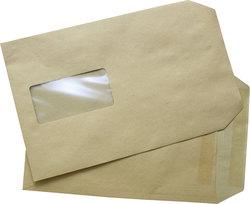 Versandtasche, C5, mit Fenster, Selbstklebend. Natron, 90gVE = 1 Karton = 500 Stück