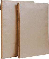 Faltentasche, C4, Haftklebung, braun, 130g, 40mm Klotzboden, ohne FensterVE = 1 Packung = 100 Stück