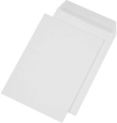 Versandtasche, C4, Papprückwand, ohne Fenster, Haftklebung, weiß, 120gVE = 1 Karton = 125 Stück