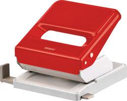 Büroring Bürolocher, rot, Stanzleistung: 25 Blatt,