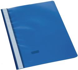 Büroring Schnellhefter, A4, dunkel- blau, PP-Folie, genarbter Deckel