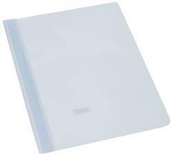 Büroring Schnellhefter, A4, weiß PP-Folie, genarbter Deckel