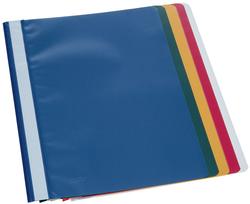 Büroring Schnellhefter A4 sortiert, PP-Folie, genarbter Deckel