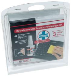 Büroring Tastatur-Desinfektionsset 50ml Desinkefktions Pumpspray,