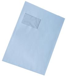 Versandtasche, C4, mit Fenster, Selbstklebend, weiß, 90gVE = 1 Karton = 250 Stück