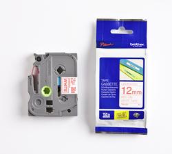 Schriftbandkassette TZE232 laminiert, 12mm breit/8m lang