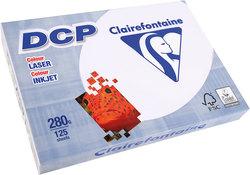 DCP Papier für Farblaserdrucker,- Kopierer ws A4 280g, 125Bl.VE = 1 Packung = 125 Blatt