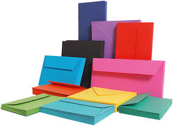 Farbiges Papier A4 160g Clementine 50 BlattVE = 1 Packung = 50 Blatt